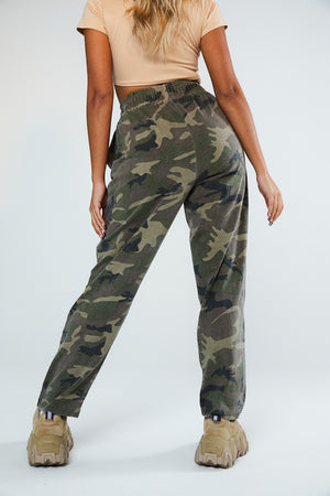 MILITARY CARGO JOGGERS