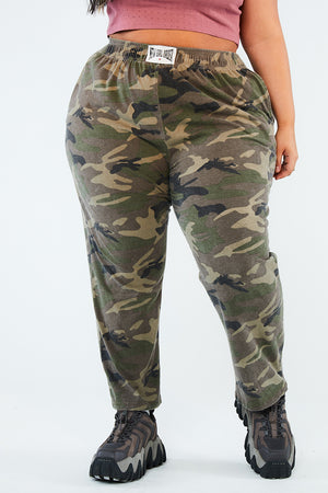 MILITARY CARGO JOGGERS CURVE