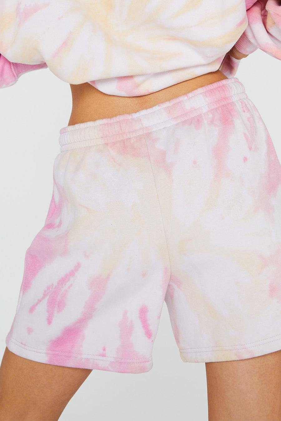 SWEET HEART TIE DYE SHORTS