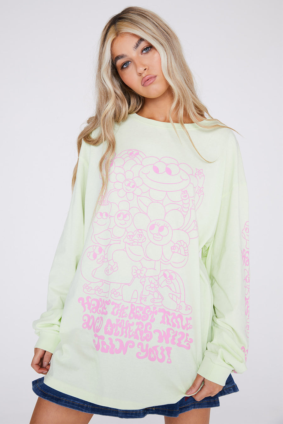 Have the Best Time Long Sleeved Top