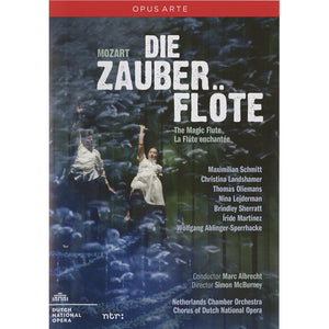 Die Zauberflote - De Nationale Opera (DVD & Blu-Ray)