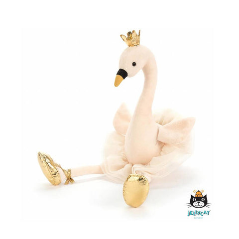 Knuffel Fancy Swan
