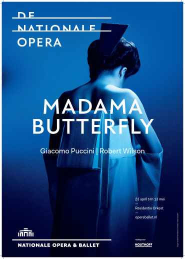 Madama Butterfly magneet