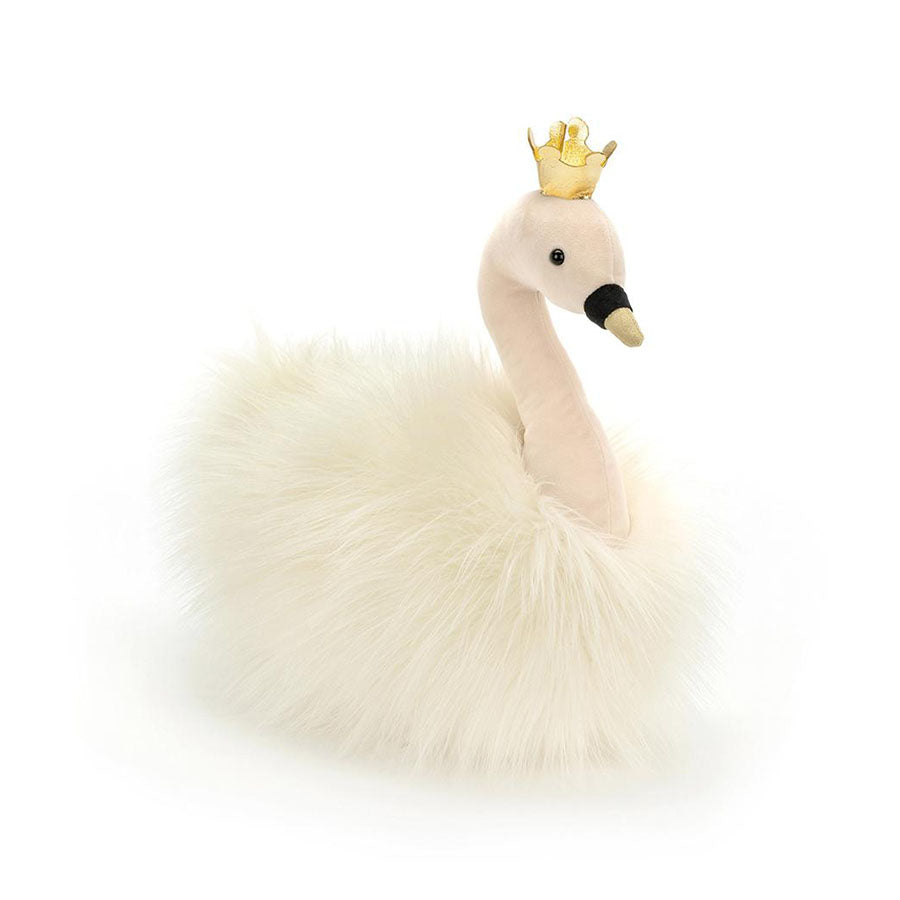 Knuffel Fancy Swan Fluffy