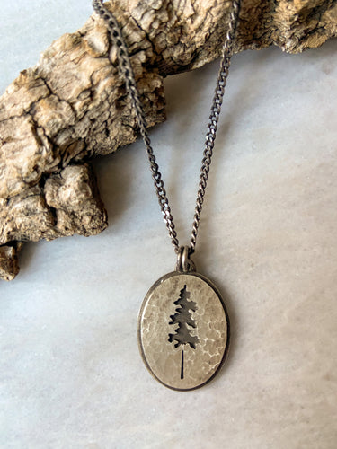 Cedar Necklace, Unisex