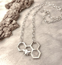 A Honeycomb and a Honeybee (Necklace)