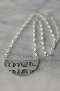 Pine Reflection Necklace