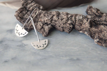 Half Moon Drop Earring, Climbing Vine