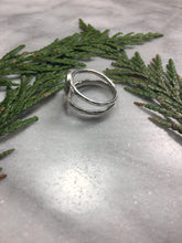 Cedar Double-Band Ring