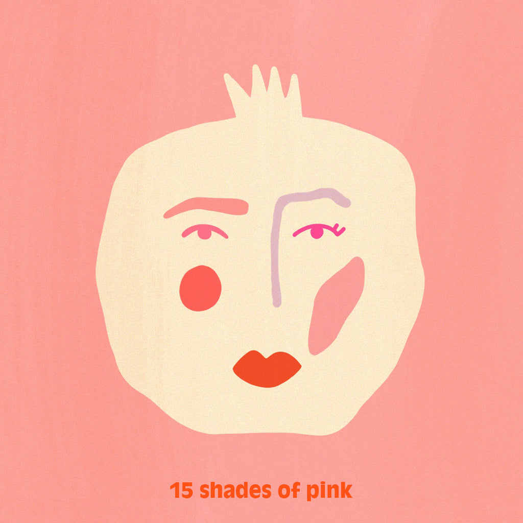 15 SHADES OF PINK - Achieve glowing, gleaming and plump skin