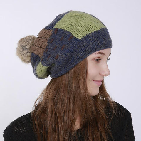 Fashion Winter Handmade Knit Hat