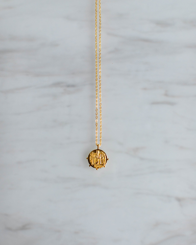 Dotted Pendant Necklace