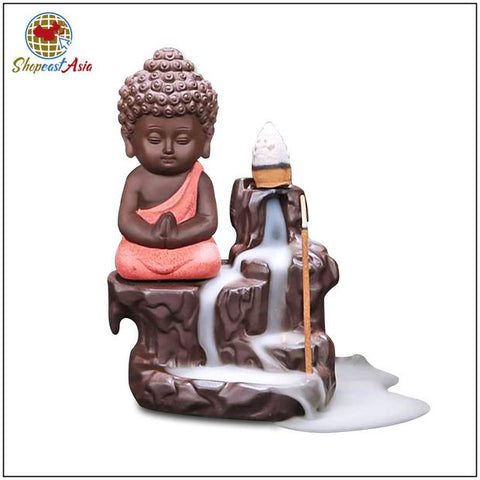 Image of Incense cones and Little Buddha Burner