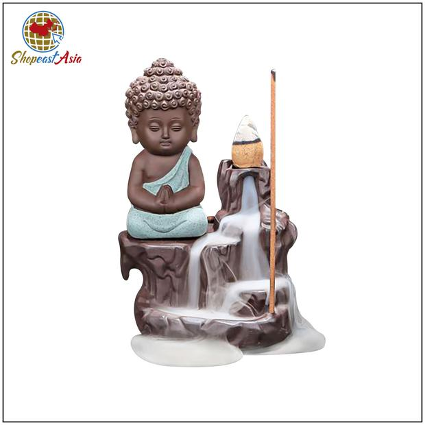 Incense cones and Little Buddha Burner