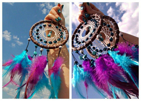 Image of INDIGO DREAMCATCHER