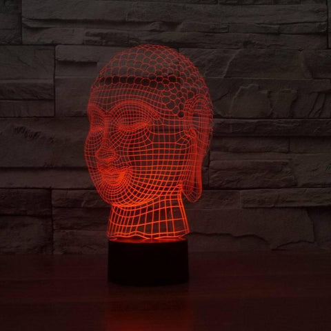 Image of LIMITED EDITION 3D HOLOGRAM BUDDHA LED LAMP