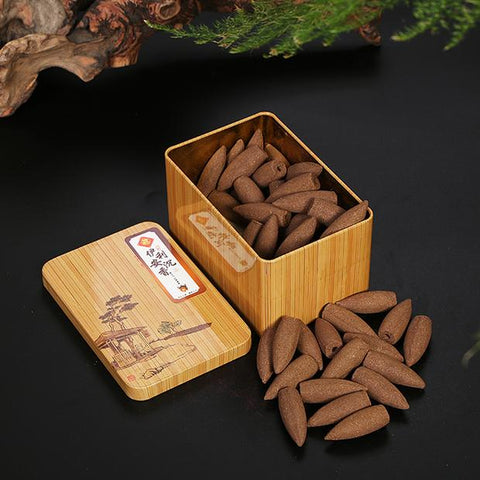 Natural Meditation Incense Flower & Bud Cones