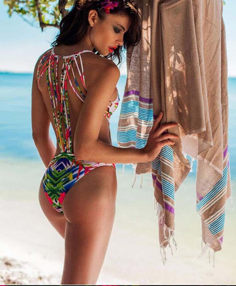 SEXY PUSH UP COLORFUL SWIMWEAR