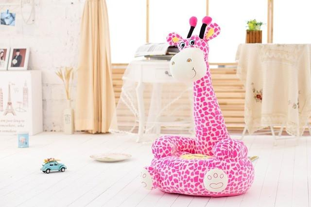 DOTTY THE GIRAFFE PLUSH SEAT