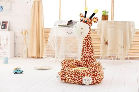 Image of DOTTY THE GIRAFFE PLUSH SEAT