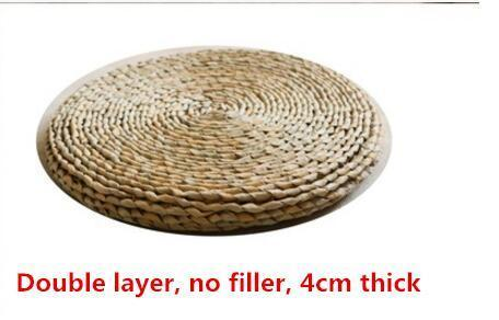 Japanese Style Handcrafted Eco-friendly Tatami Meditation Cushion