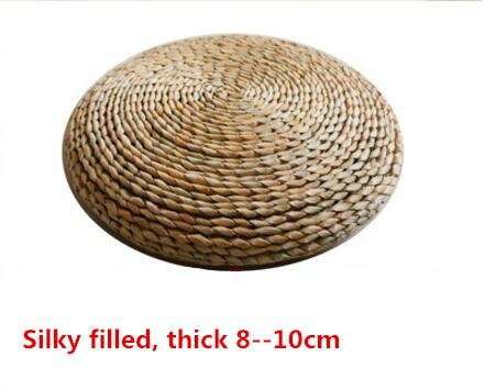 Image of Japanese Style Handcrafted Eco-friendly Tatami Meditation Cushion