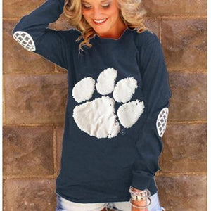 Paw Long Sleeve Top