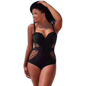 SEXY WOMEN PLUS SIZE ONE PIECE PUSH UP