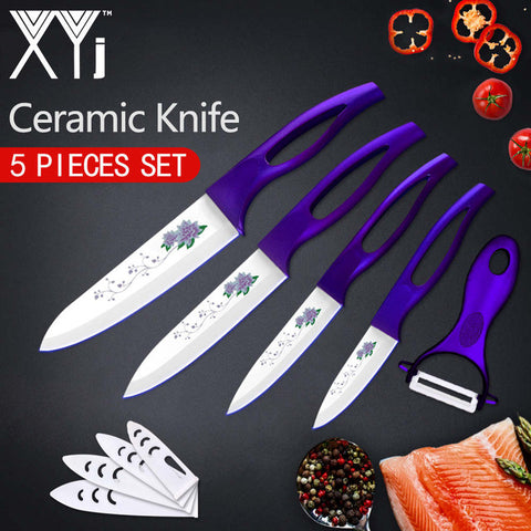 Image of Ceramic Knife Cooking Set