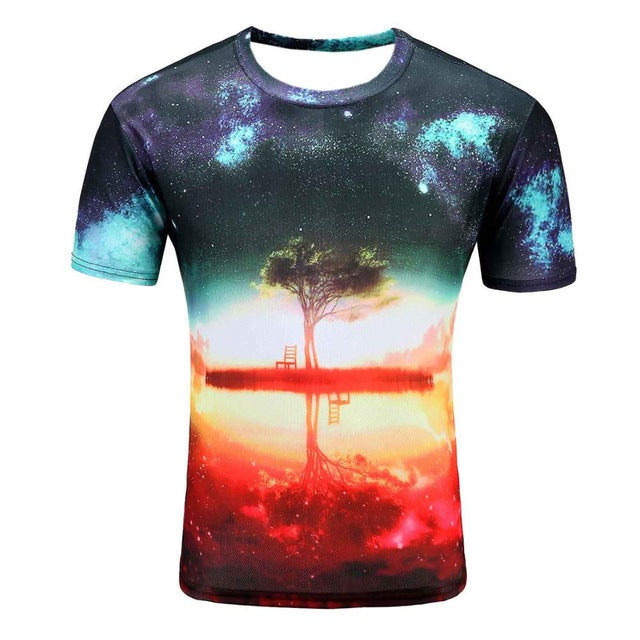Galaxy Space T-shirt