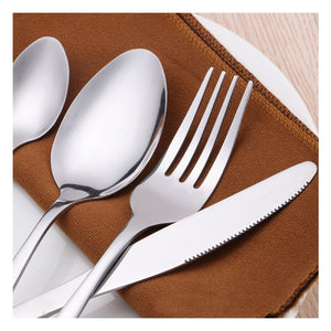 24 Pcs / Dinnerware Set - Knife and Fork Cutlery Set With Gift Box