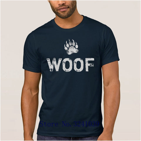 Image of Men's Woof Paw Shirt