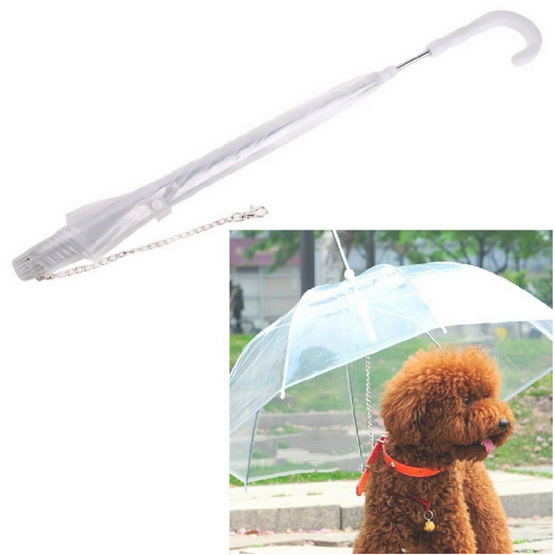 High Quality Transparent Dog Umbrella