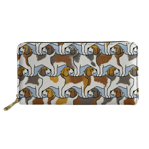 Beagles Dog Print Purse