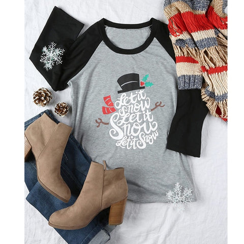 Cute Dog Christmas Top