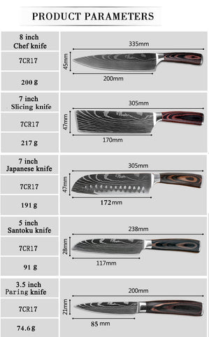 Gyuto Japanese Chef Knives