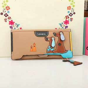 Cartoon Dog Clutch
