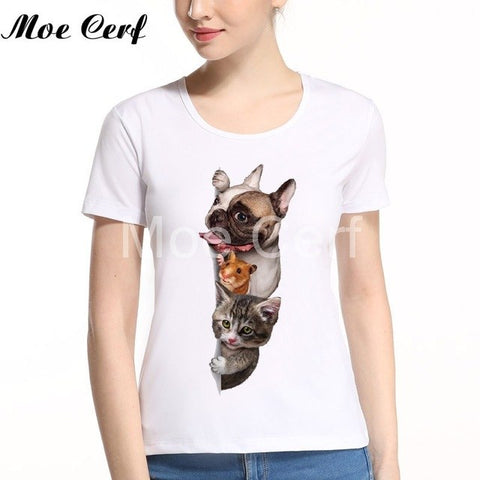 Image of Christmas Party Dog T-shirt