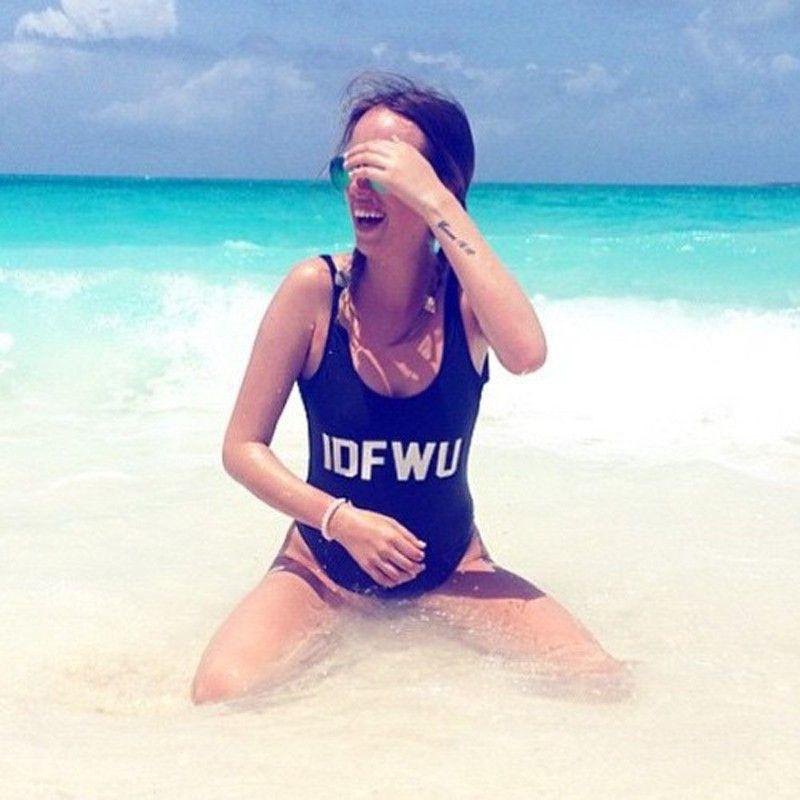 ONE PIECE SEXY WOMEN MONOKINI BODYSUIT BATHING BEACH WEAR SUIT