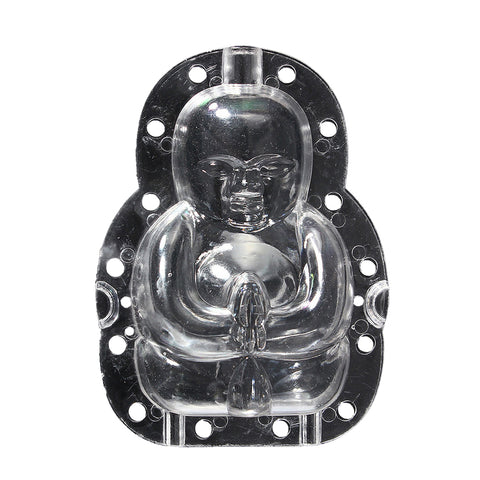 Image of Buddha-shaped Apple and Pear Growth Forming Mold