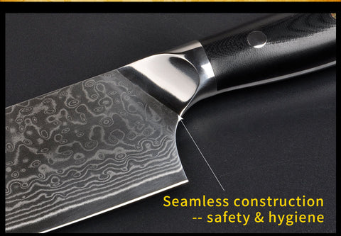 Image of Damascus Gyuto 10 Inch Japanese Chefs Knife