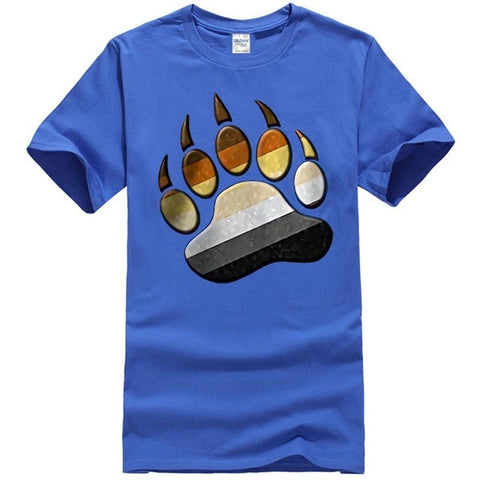 Men's Multi Color Paw Shirt