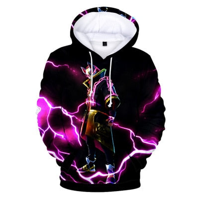 Image of 3D Battle Royale Hoodie Sweatshirt