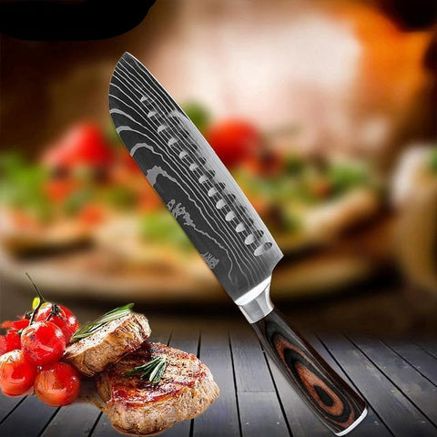 6 Piece Professional Chef Knife Set