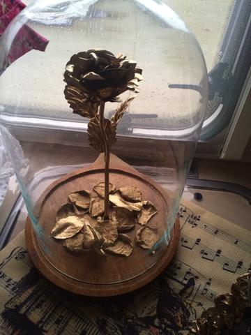 Image of 24K GOLD FOIL ROSE - WITH BOX