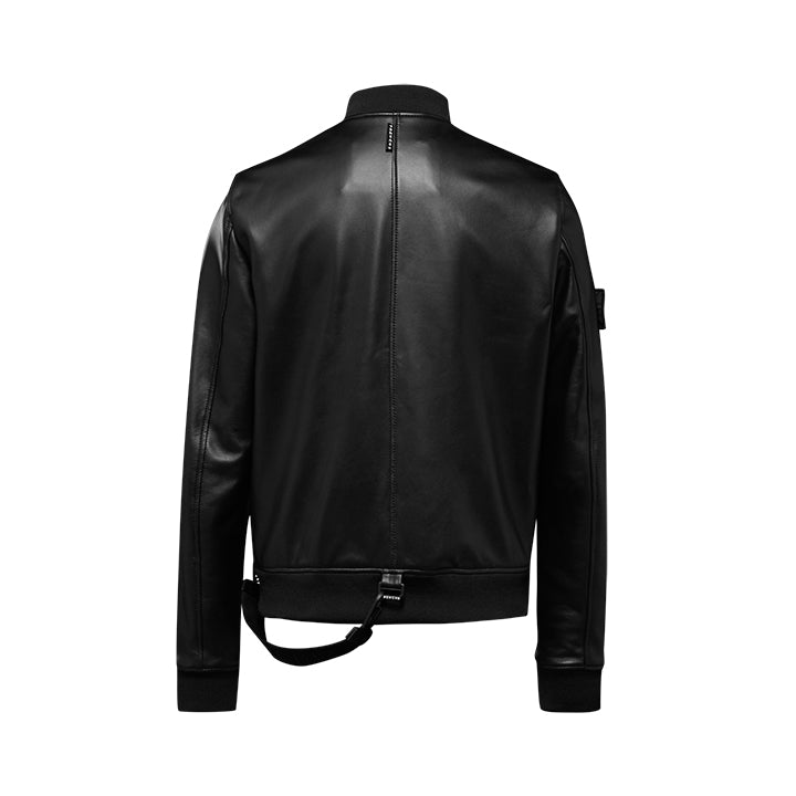 Trench London TRENCH LEATHER BOMBER