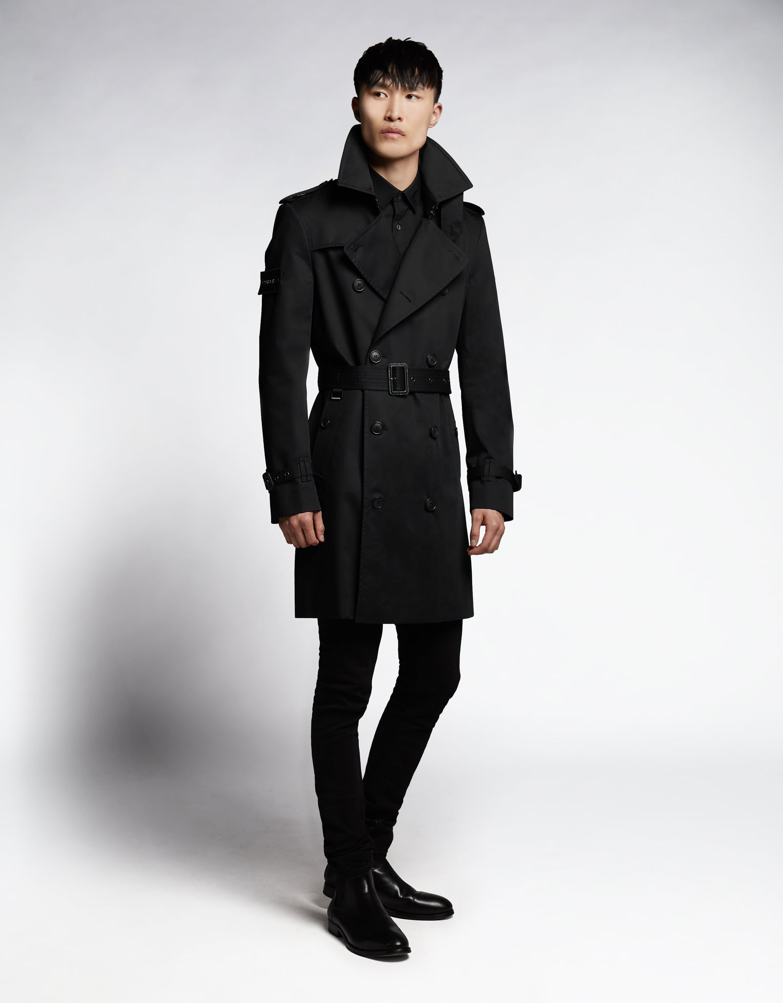 THE KING SUPERFINE ORGANIC CLASSIC TRENCH COAT