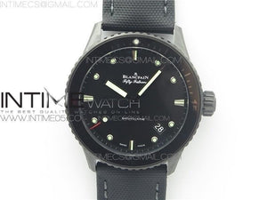 FIFTY FATHOMS BATHYSCAPHE BLACK CERAMIC