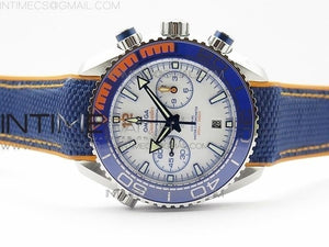 PLANET OCEAN MASTER CHRONOMETER CHRONO SS