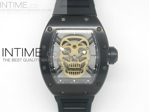 RICHARD MILLE GOLD DIAL FLYBACK